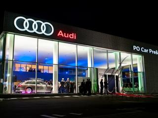 AUDI - PO CAR Prešov, otvorenie autosalónu